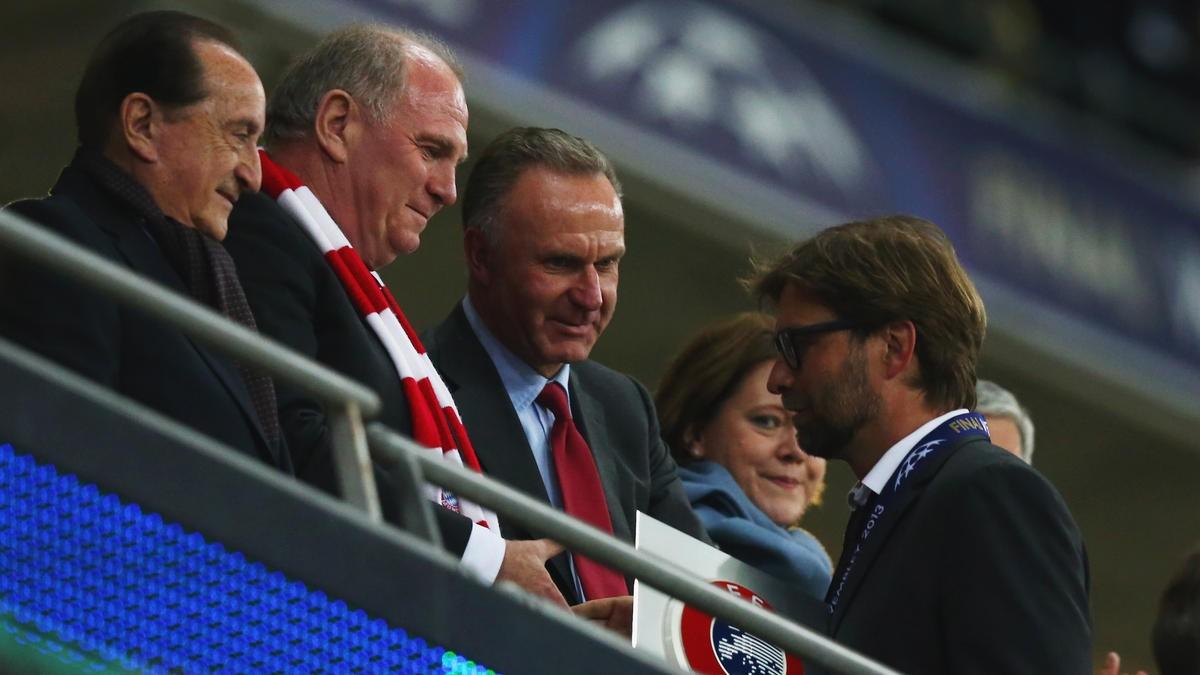 拜仁一直对克洛普感兴趣,但他总是在合同期内