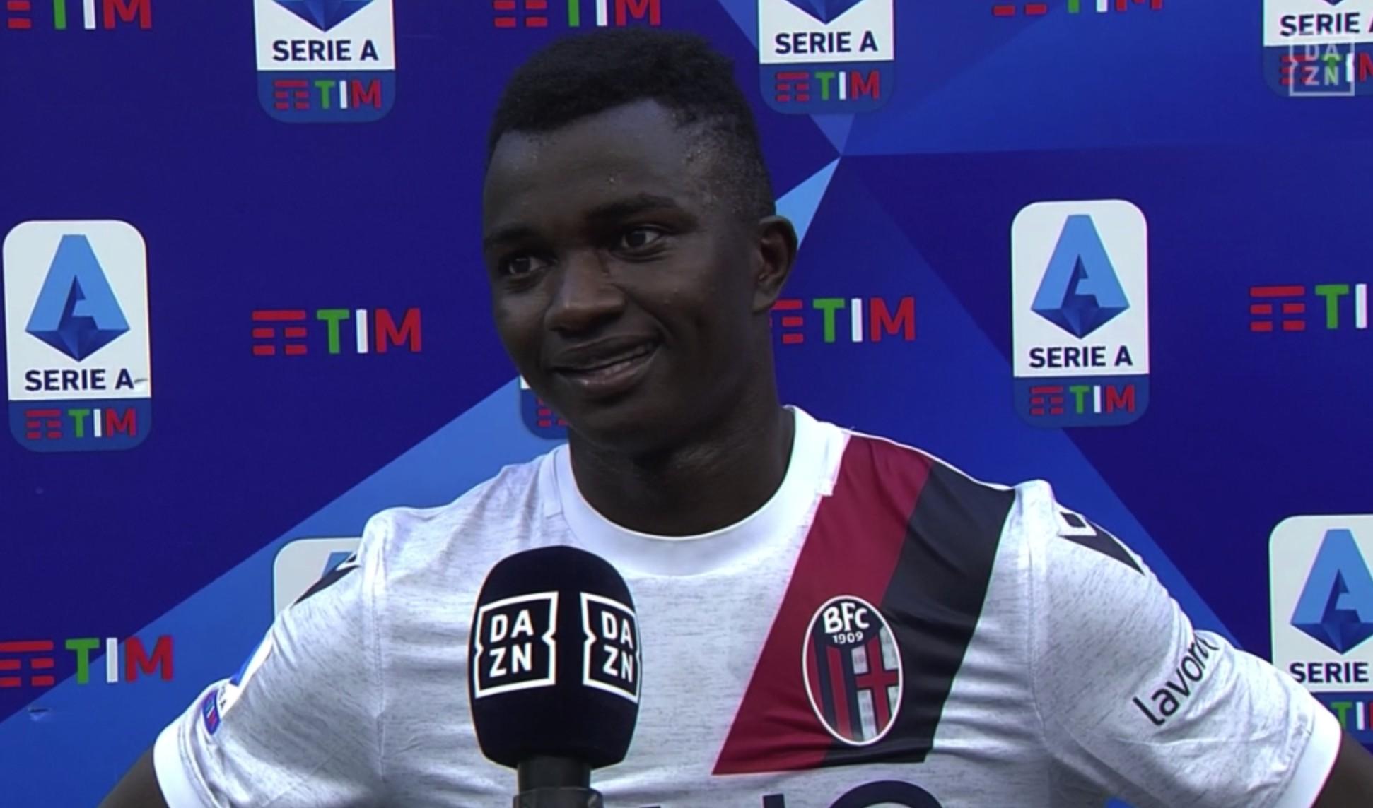 年仅18岁的朱瓦拉打进了自己在意甲联赛的处子球,赛后这位冈比亚新星谈到了自己