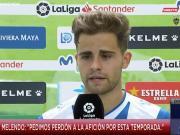 梅伦多:我们因两个细节输掉比赛;为这个赛季向球迷道歉