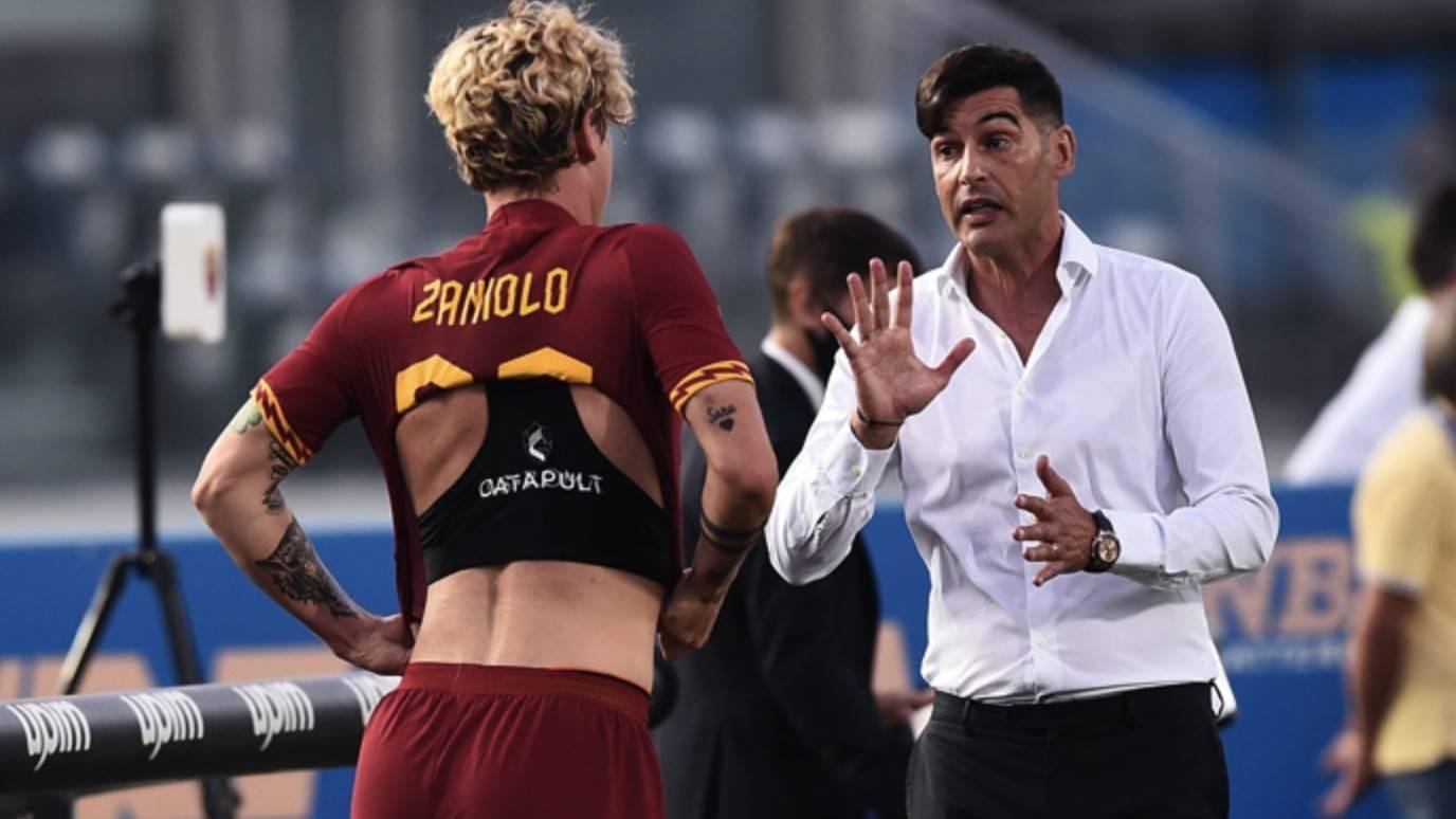 全市场:尤文引进扎尼奥洛的条件是罗马乐意接受球员交流