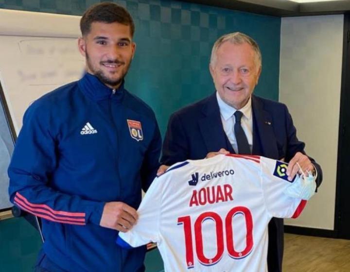 对阵洛里昂,奥亚尔完成法甲联赛第100次出场