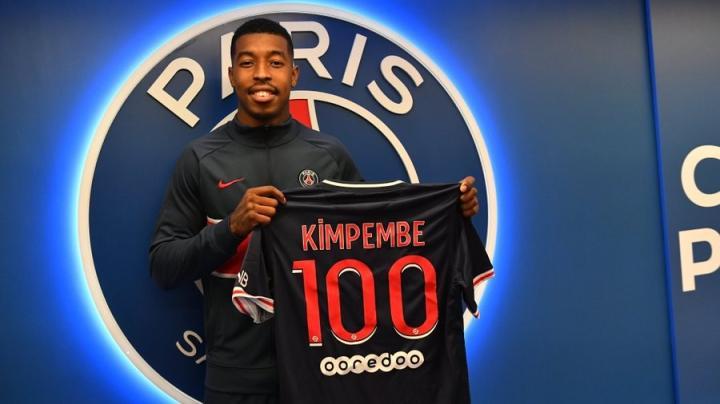 战胜昂热,金彭贝完成法甲联赛第100次出场