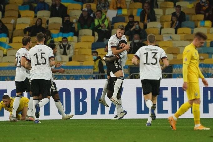 25个月的等待,德国队在战胜乌克兰后总算迎来欧国联首胜