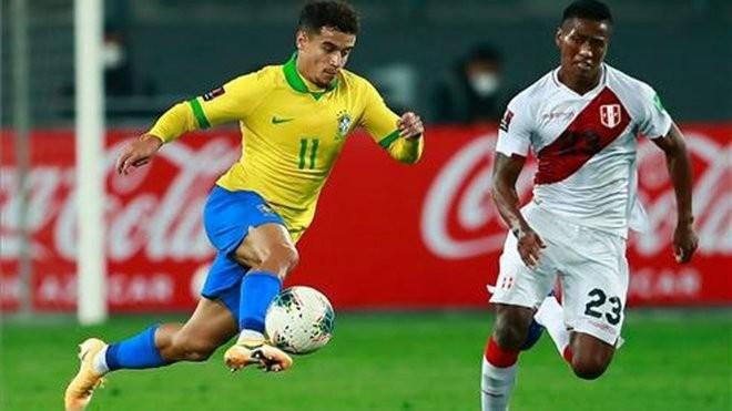 库蒂尼奥现在是巴西队的二号人物,是球队创造力的源泉