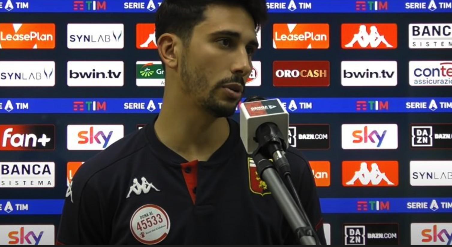 热那亚中卫:国米很强,尽管输了但我们满意自己的体现