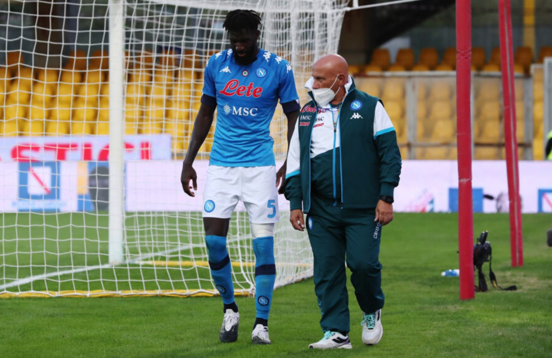 巴卡约科膝盖受伤下场,加图索:期望他的伤势别太严峻