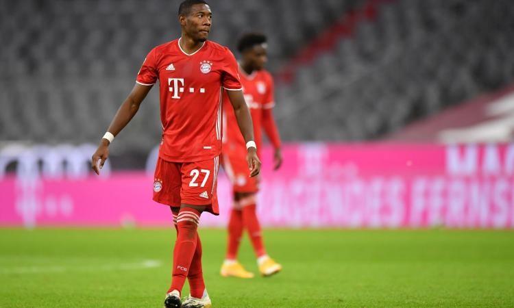 阿拉巴现已拒绝了拜仁慕尼黑提出的最新续约提议