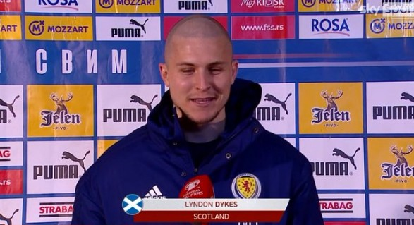 戴克斯:杀进欧洲杯太神奇;为苏格兰队效力会是我的最佳决议