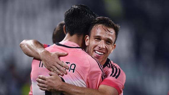国家队双双进球,莫拉塔和阿图尔在尤文重获重生