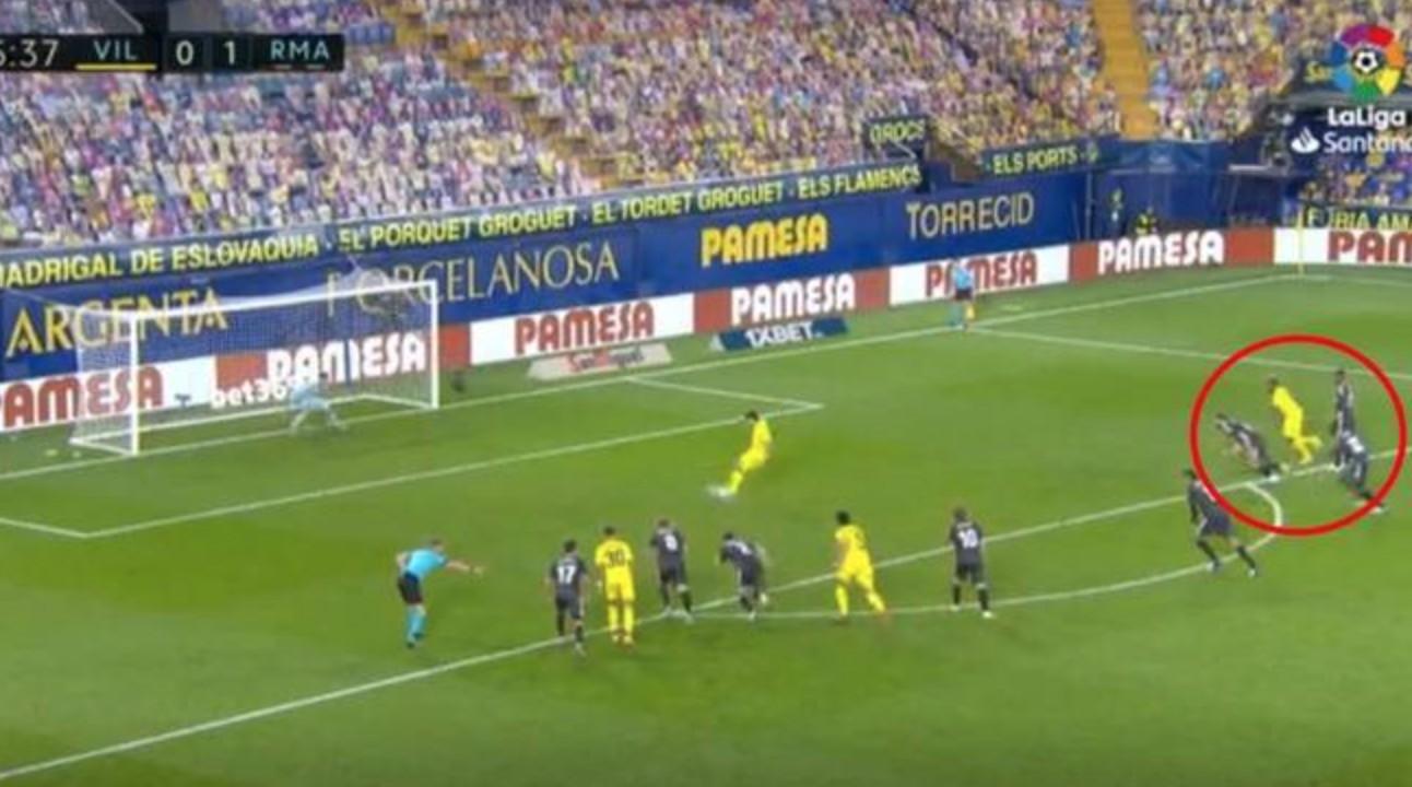 马卡:赫拉德-莫雷诺主罚点球时,黄潜球员提早进线了