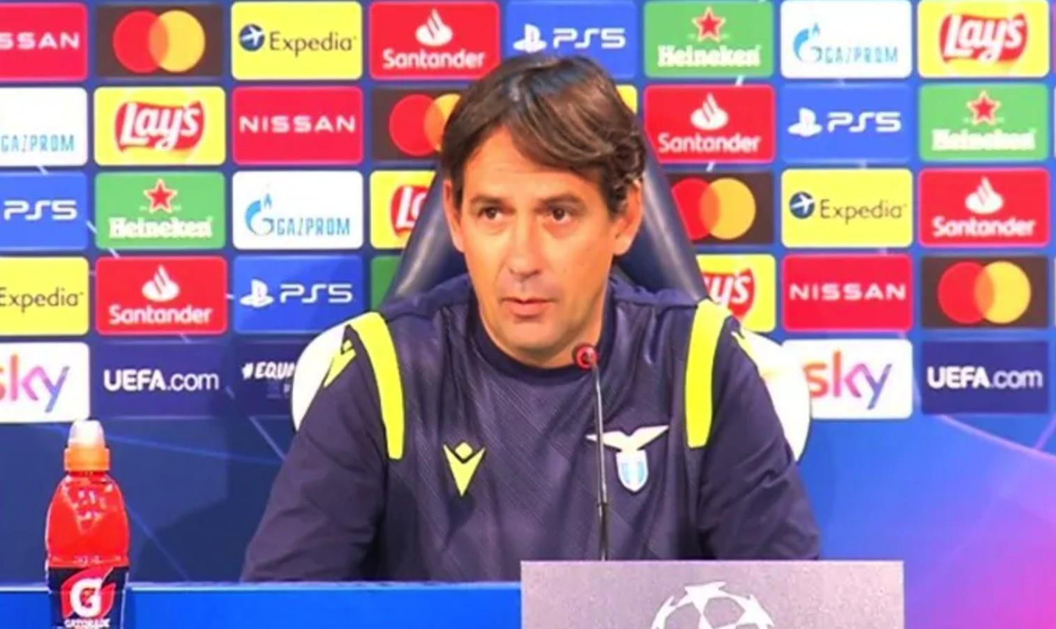 小因扎吉:我们的政策是从欧冠的小组中出线