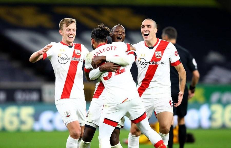南安普顿已经在英超联赛取得了5胜2平的战绩