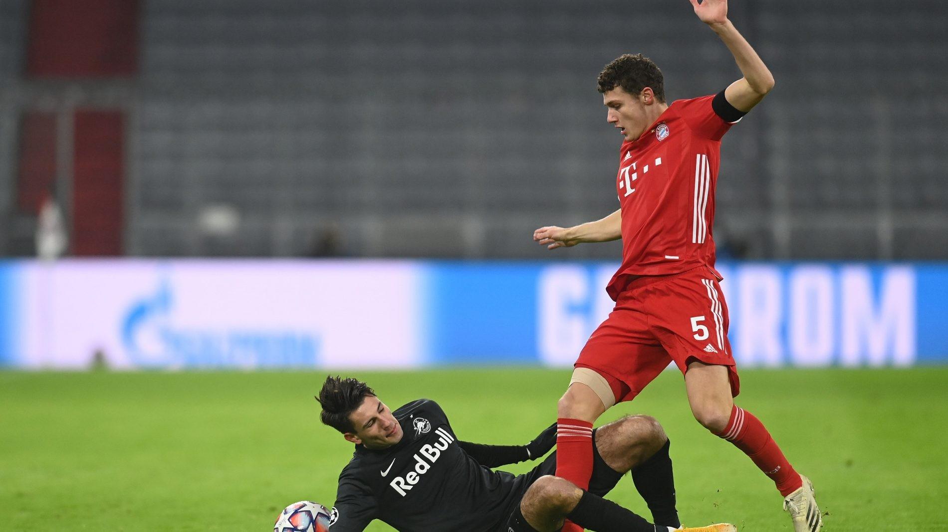 拜仁慕尼黑主场3-1击败萨尔茨堡红牛