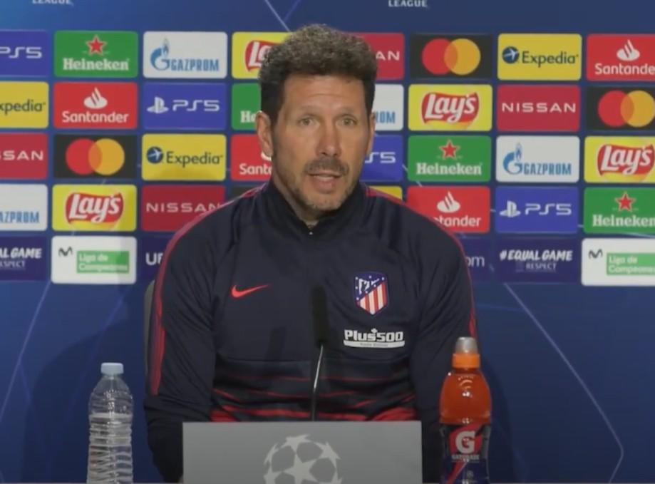   西蒙尼:拜仁拿手进球,他们也了解应对众多的竞赛