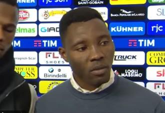前加纳国脚阿萨莫阿和国际米兰提早解约,成为了一名自由球员